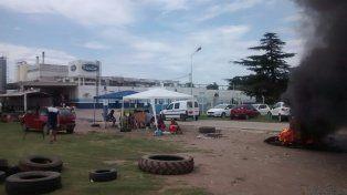 Crisis social. La planta de Sancor en Centeno está paralizada..
