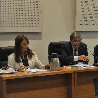 Los jueces. María Isabel Mas Varela, Julio Kesuani e Ismael Manfrín daran a conocer el fallo el lunes próximo.