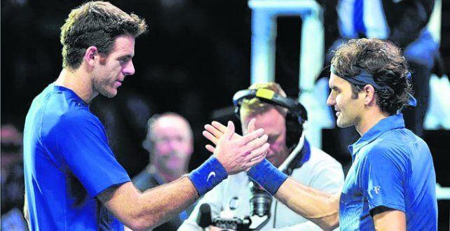Posible cruce. Del Potro y Federer están a un paso de volverse a enfrentar.