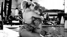 fede bal publico una foto caliente junto a laurita fernandez de vacaciones en las vegas