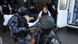 Trasladaron a Coronda a Macaco Muñoz, herido en el ataque a tiros en la autopista