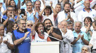 La titular de Ctera, Sonia Alesso, disparó munición gruesa contra el gobierno de Mauricio Macri.