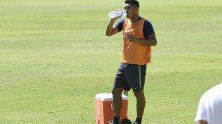 Teo Gutiérrez seguiría en el banco el sábado ante Tigre.