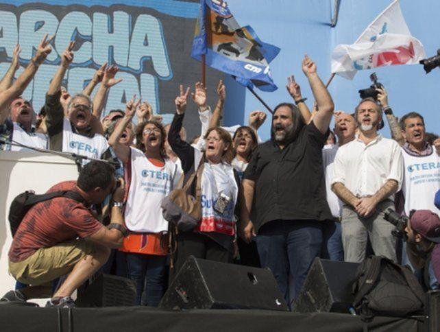Tras la multitudinaria marcha de ayer en Plaza de Mayo
