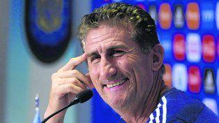 Optimista. Bauza está ilusionado con ganarle a Chile y encaminar la clasificación.