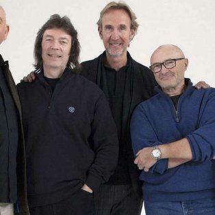 La famosa banda inglesa con su formación más clásica, versión 2014.