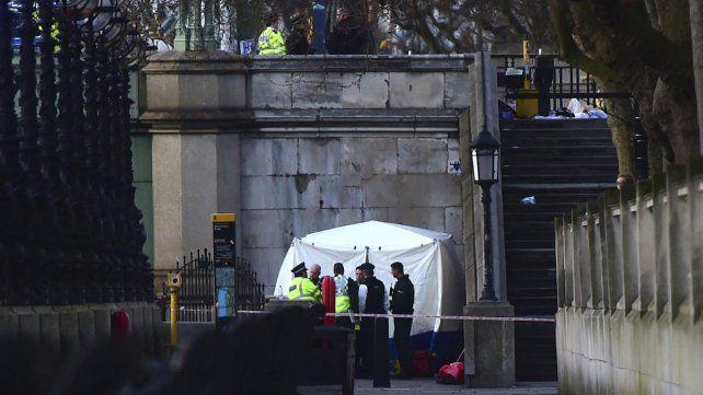 Las imágenes del atentado terrorista en Londres