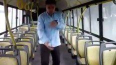 el video de un colectivero bailando enloquecio a tinelli y ahora el chofer es famoso
