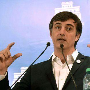 El ministro de Educación del gobierno de Mauricio Macri, Esteban Bullrich.
