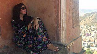Las fotos del exótico y espiritual viaje de Dolores Barreiro por la India