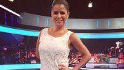 Marina Calabró impactó con un vestido con transparencias que usó sin permiso de su marido