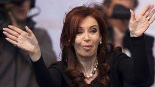La expresidenta ironizó con la elevación a juicio oral en la causa de dólar futuro.