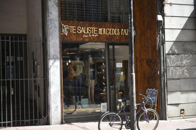 El nombre del local de ropa en calle Corrientes