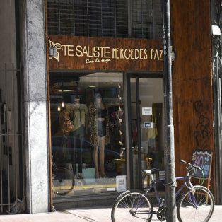 El nombre del local de ropa en calle Corrientes, entre Córdoba y Santa Fe.