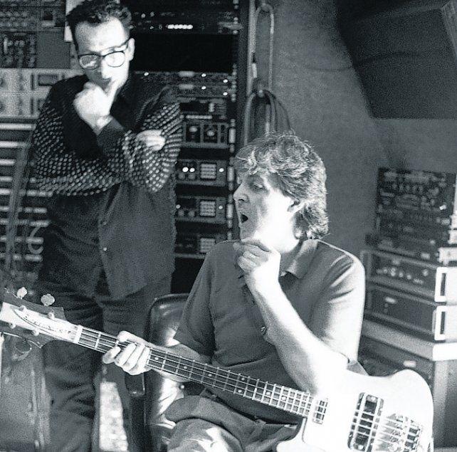 Hace 30 años. Paul y Elvis grabaron temas a dúo y también con una banda.