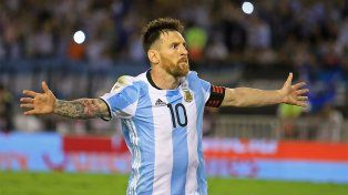 Leo Messi convirtió el 1-0 de Argentina sobre Chile en el Monumental.