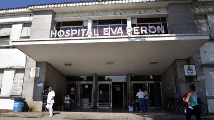La joven de 16 años quedó internada en el Hospital Eva Perón, en Granadero Baigorria.