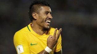 Cuatro. Uruguay se había ilusionado pero aparecieron Paulinho y Neymar y todo fue de la canarinha.