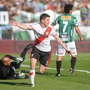 Lucas Alario, un muy buena alternativa para reemplazar a un flojo Pipita Higuaín.
