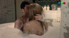 isabel macedo y mariano martinez tuvieron su primera escena de sexo en la television