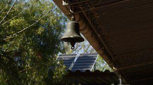 El programa provincial contempla la instalación de paneles solares.