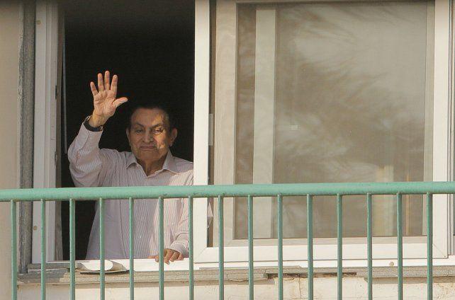 A casa. El líder egipcio