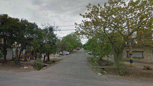 El lugar. Pascual Rosas y Cerrito, donde mataron a Alejandro Chara.