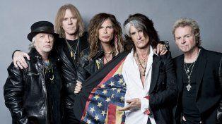 Aerosmith tiene todo acordado para tocar en Central en octubre.