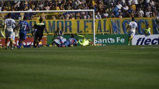 El Ruso Rodríguez le tapó la primera a Alexis Castro, antes del minuto de juego.
