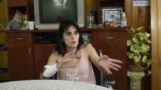 La víctima. María Agustina Barzi volvía aquel día de rendir un examen. Tomó antes de lo previsto el mismo colectivo que la había traído a Rosario.