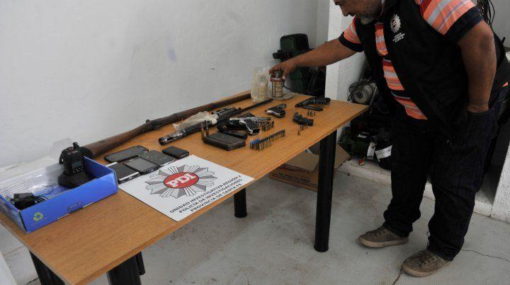 Secuestro. La Policía de Investigaciones (PDI) de la provincia en un reciente operativo