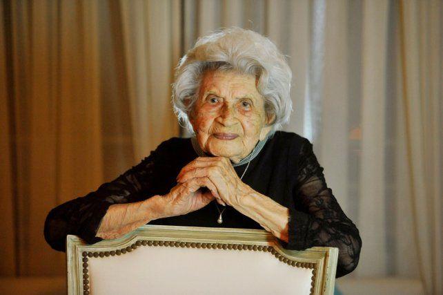 Tranquila y feliz. Tati asegura que el secreto para llegar a los 105 años no es muy complejo. En la vida no hay que apresurarse