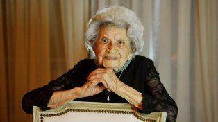 Tranquila y feliz. Tati asegura que el secreto para llegar a los 105 años no es muy complejo. En la vida no hay que apresurarse, remarca.