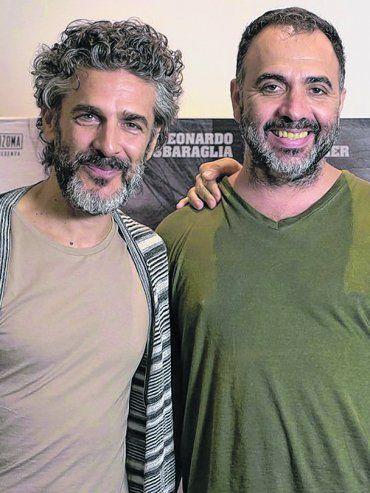 Tres talentos. Leonardo Sbaraglia, Adrián Caetano y Daniel Hendler se unieron en este proyecto basado en la novela Bajo este sol tremendo.