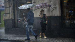 Rige un aviso por fuertes tormentas que comprende a las zonas sur y centro de Santa FeLa