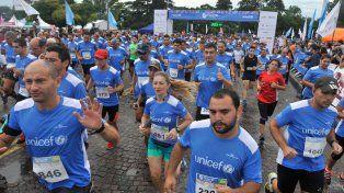 Unicef recaudó en Rosario más de un millón y medio de pesos en la Carrera por la Educación