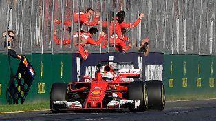 Pegó primero. Estamos tocando el cielo con las manos, sostuvo el piloto alemán de Ferrari.