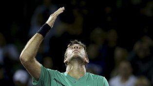 Delpo derrotó a Robin Haase por 6-2 y 6-4. Su rival de segunda ronda será Roger Federer.