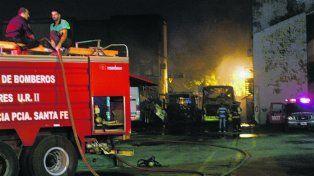 ¿intencionales? Los incendios de colectivos ocurren siempre de noche.