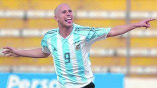 Así lo gritó. El ex Central Luciano Figueroa en el festejo del 1-1 parcial en el último triunfo argentino en la altura de La Paz.