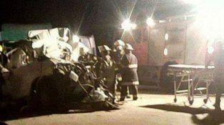 La imagen del trágico accidente.