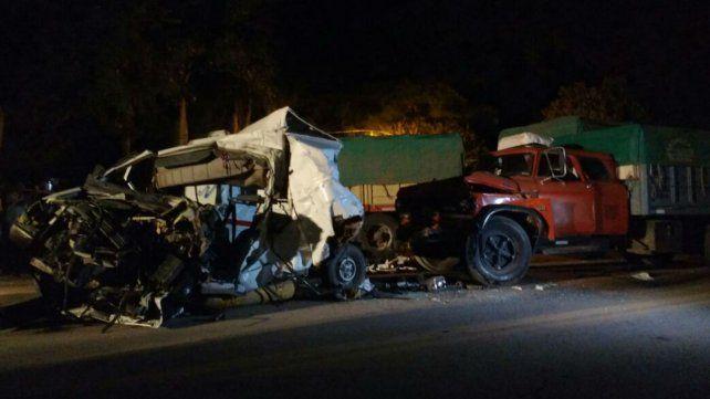 La tragedia de anoche en Villa La Ribera.