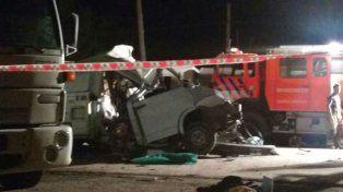 El trágico accidente ocurrió anoche sobre la ruta 91.