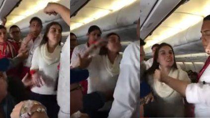 Una mujer alcoholizada causa revuelo en pleno vuelo