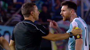 Messi fue suspendido por cuatro fechas y no jugará hasta la última fecha de las eliminatorias