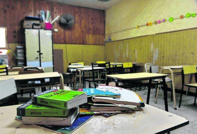 final incierto. Aún nadie se anima a predecir si la postal de aulas vacías no volverá a repetirse.