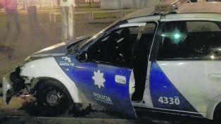 postal repetida. Este móvil chocó contra un taxi el viernes pasado.