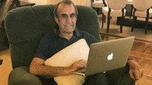 Carlos Reutemann volvió al país recuperado tras operarse en Estados Unidos