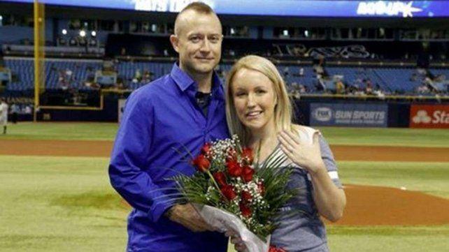Melissa Dohme y Cameron Hill