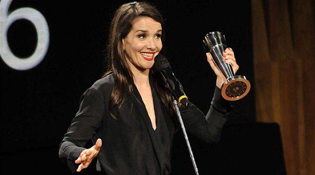 Natalia Oreiro ganó como mejor actriz por Gilda en los Premios Sur